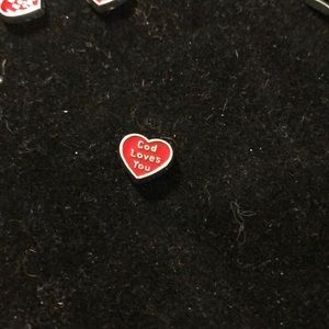 Jewelry - Charm for locket. God loves You